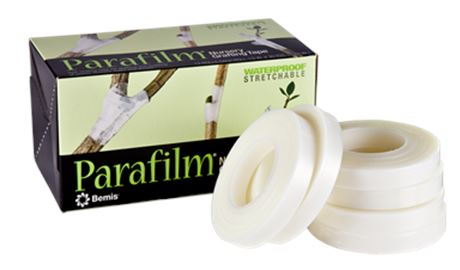 "2 Rolls Genuine Parafilm® Grafting & Budding Tape 1/2"" x 1080"" (0.5 in x 90 ft)"