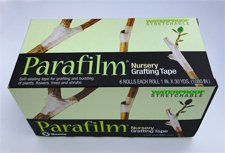 "1 Roll Genuine Parafilm® Grafting & Budding Tape 1"" Wide x 1080"" (1 in x 90 ft)"